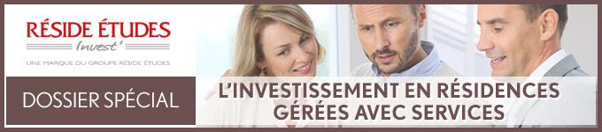 L'investissement en résidences gérées avec services