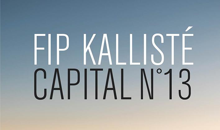 FIP Kalliste Capital N°13